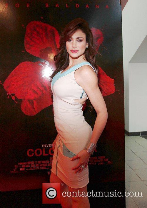 Patricia Leon attends the 'Colombiana' Miami Red Carpet...