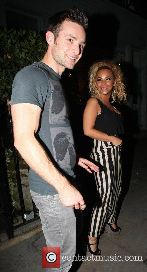 Harry Judd and Chelsee Healey Strictly Come Dancing...