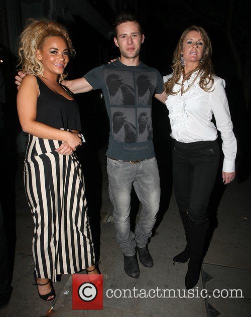 Strictly Come Dancing celebrities enjoy celebs a dinner...