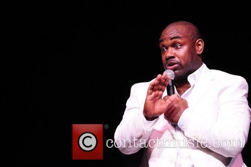 Actor/Comedian Rodney Perry performs at 4th Annual Memorial...