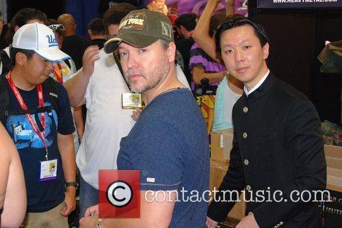 Carlos Gallardo and Chee Keong Cheung  Comic-Con...
