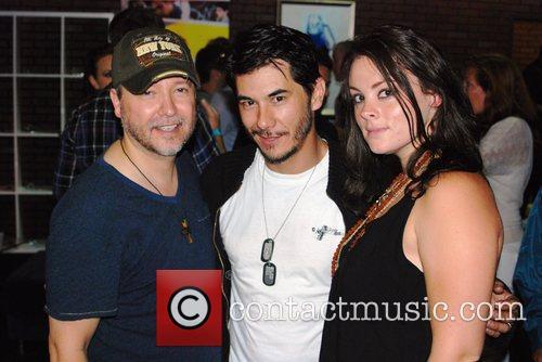 Carlos Gallardo and James Daval  Comic-Con 2011...