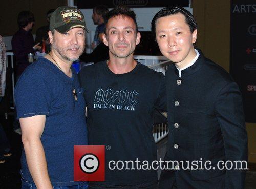 Carlos Gallardo, Noah Hathaway and Chee Keong Cheung...