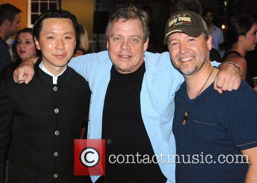 Chee Keong Cheung, Mark Hamill and Carlos Gallardo...
