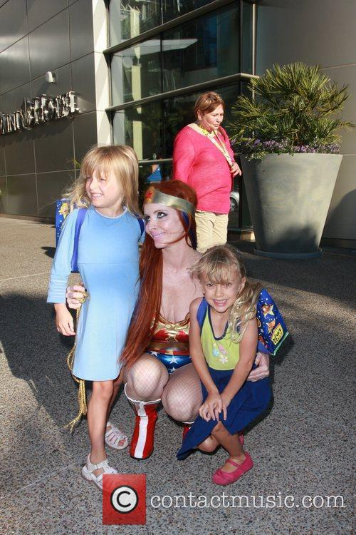 Phoebe Price, Paula LaBaredas and Wonder Woman 13