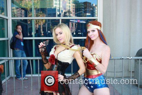 Phoebe Price, Paula Labaredas and Wonder Woman 9