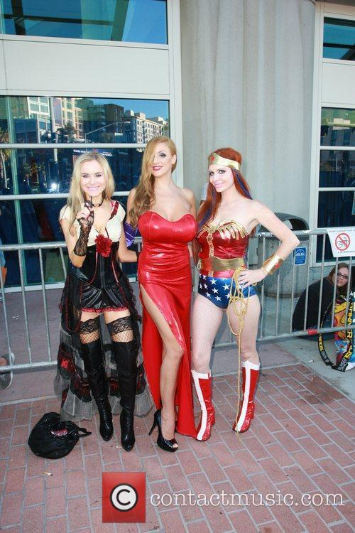 Phoebe Price, Paula Labaredas and Wonder Woman 1