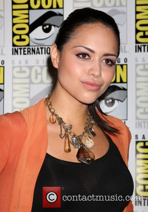 Alyssa Diaz 2011 Comic-Con Convention - Day 2...