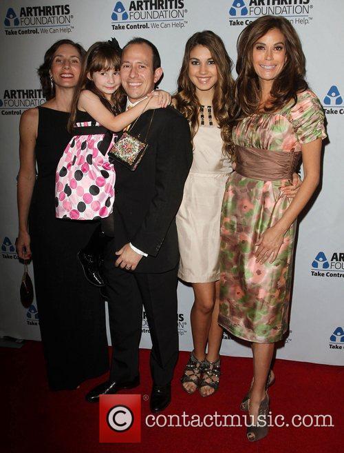 (L-R) Laura Schultz, Sophia Rothman, Joel Rothman, Emerson...