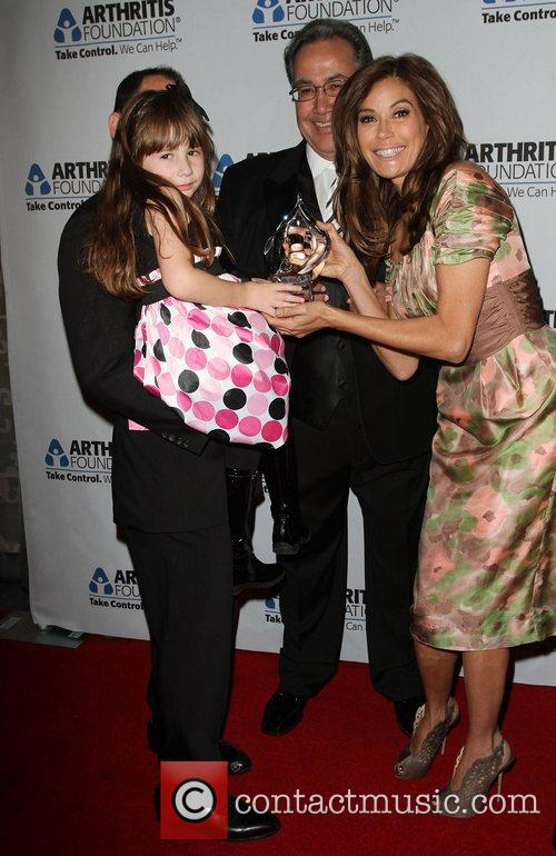 Laura Schultz and Teri Hatcher  at the...