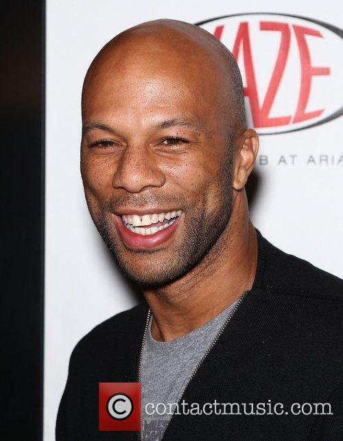 Common celebrates his birthday at Haze Nightclub at...