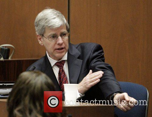 Anesthesiology expert Dr. Steven Shafer  testifies during...