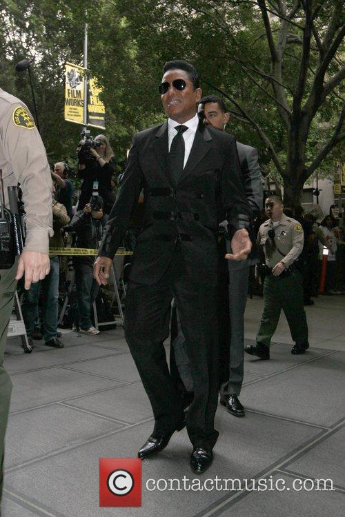 Jermaine Jackson Sentencing day in the Conrad Murray...