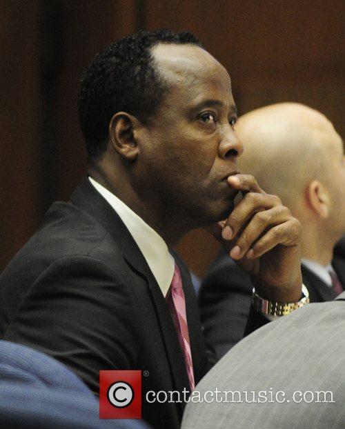 dr conrad murray listens as defense attorney 5746641