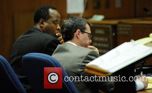 Dr. Conrad Murray and Defense Attorney Ed Chernoff...