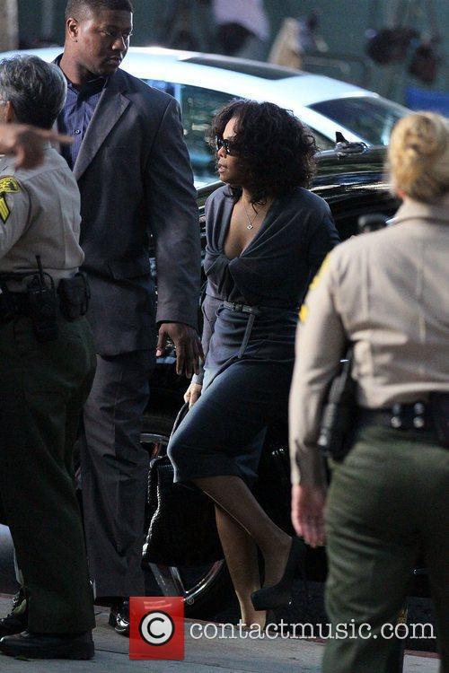 Janet Jackson arrives at Los Angeles Superior Court...