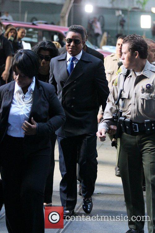 Halima Rashid and Jermaine Jackson arrive at Los...