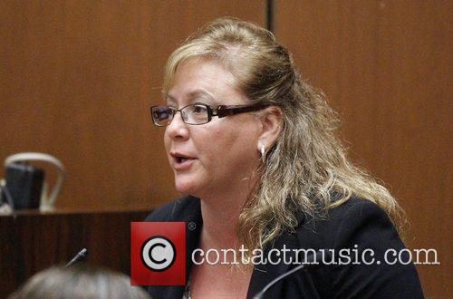 Prosecution witness Stacey Ruggles testifies during Dr. Conrad...