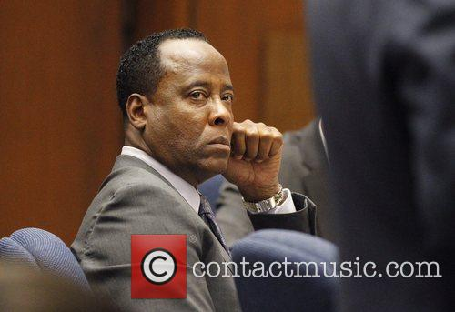 Dr. Conrad Murray listens to testimony s during...