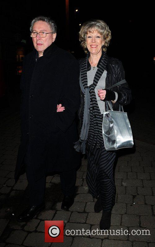 Sue Nicholls arrives at the Contemporary Six art...