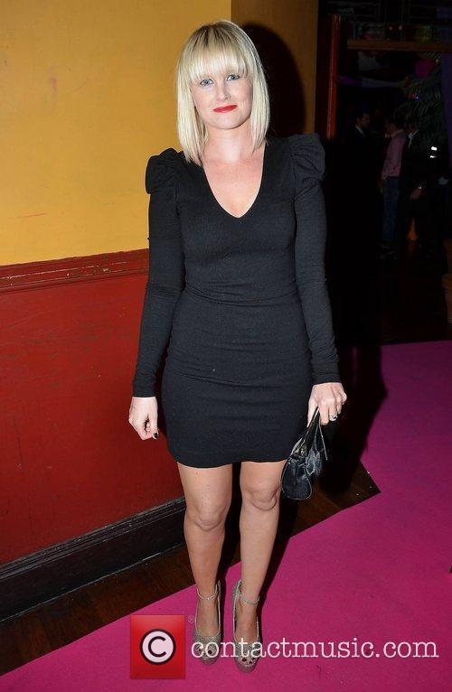 Sinead Kennedy  at the VIP area in...