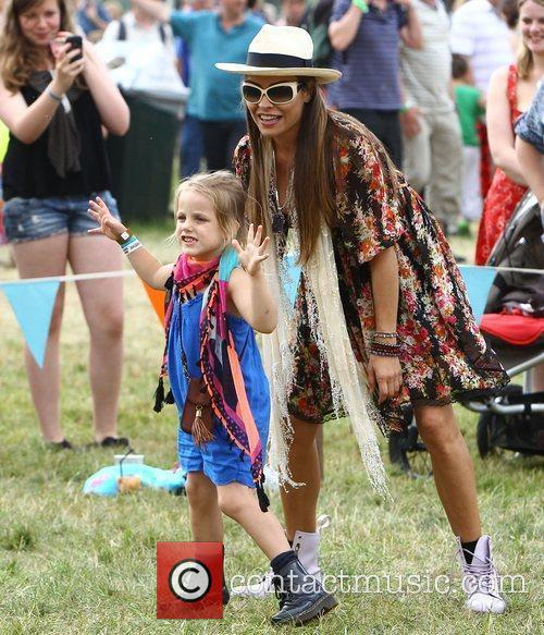 Elen Rivas and her daughter Isla The Cornbury...