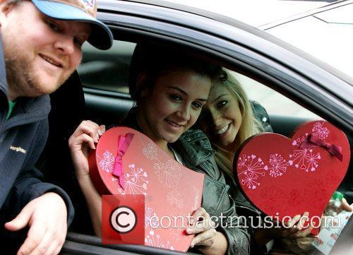 'Coronation Street' stars receive Valentines gifts from a...