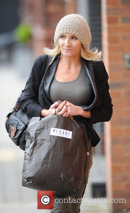 Michelle Collins and Granada Studios 4