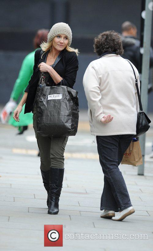 Michelle Collins and Granada Studios 6