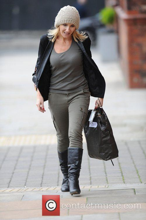 Michelle Collins and Granada Studios 5