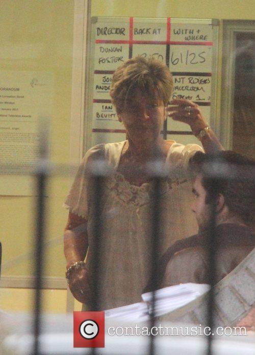 Anne Kirkbride 'Coronation Street' cast arriving at the...