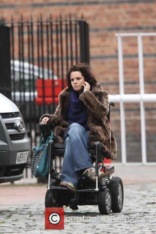 'Coronation Street' cast arriving at the Granada studios...