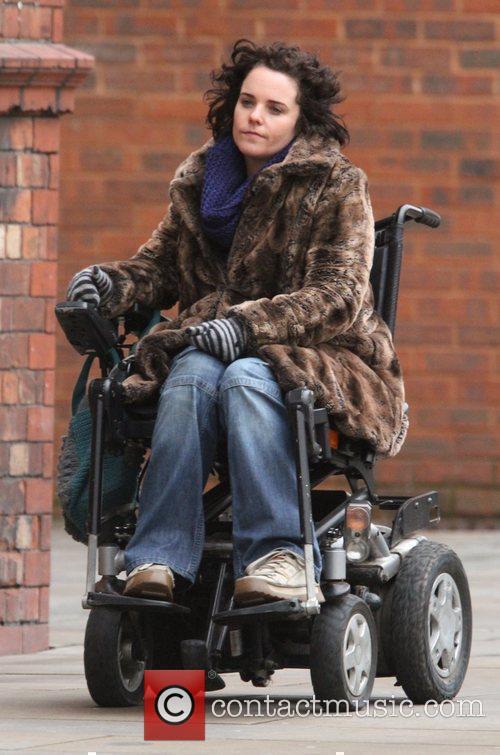 Cherylee Houston 'Coronation Street' cast arriving at the...