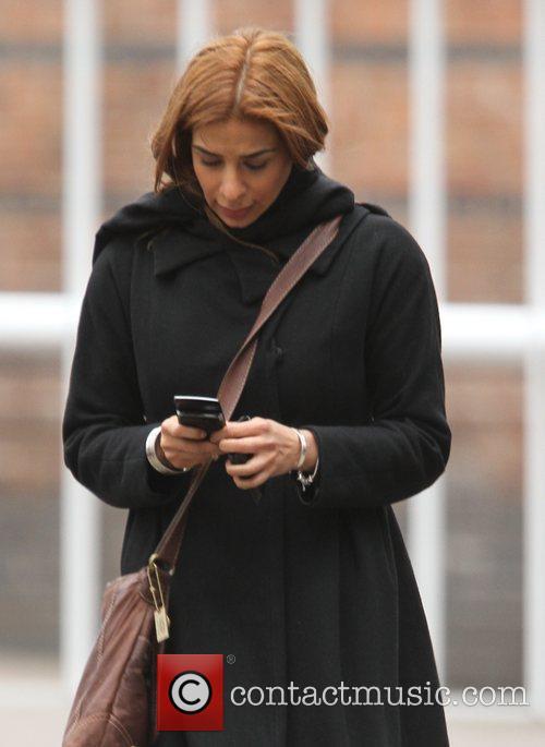 Shobna Gulati 'Coronation Street' cast arriving at the...