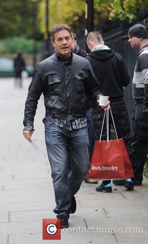 John Michie 'Coronation Street' cast arriving at Granada...