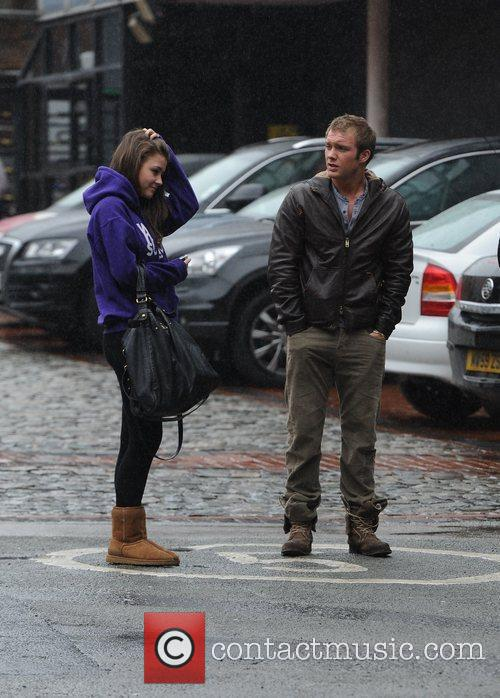 Chris Fountain, Brooke Vincent and Granada Studios 10