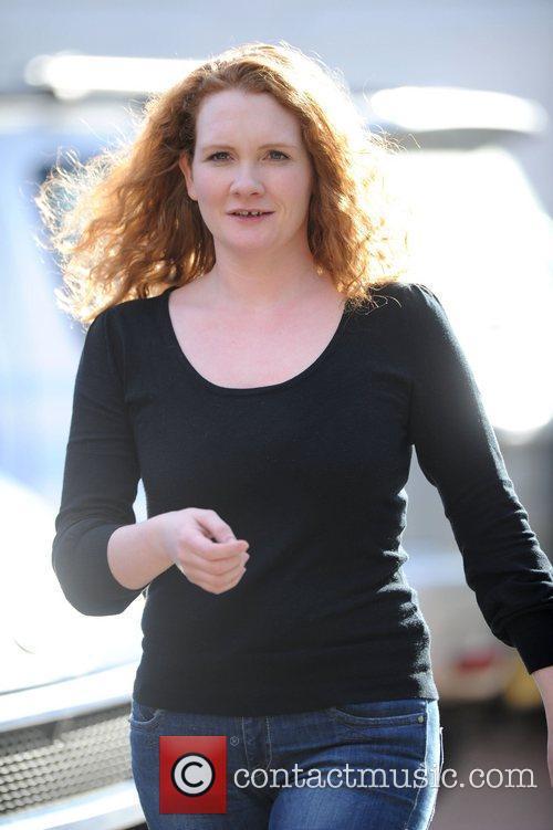 'Coronation Street' actress Jenny McAlipine  leaving the...