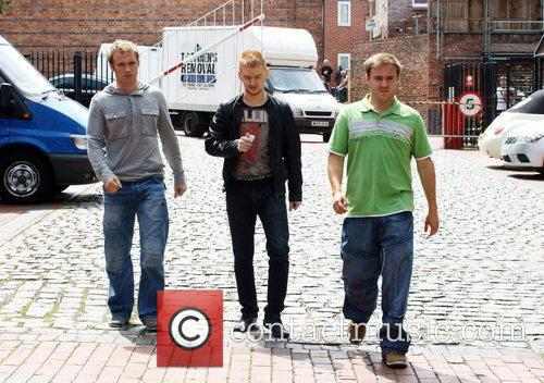 Chris Fountain, Alan Halsall and Mikey North 2