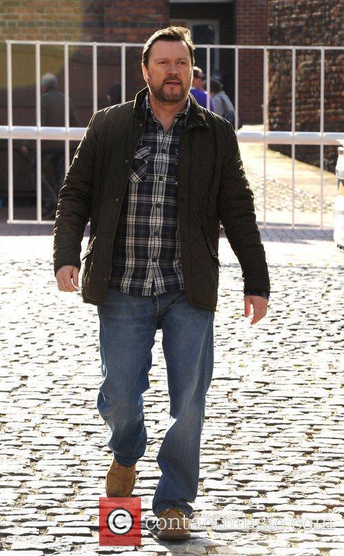 Ian Pulston Davies  outside the Granada TV...