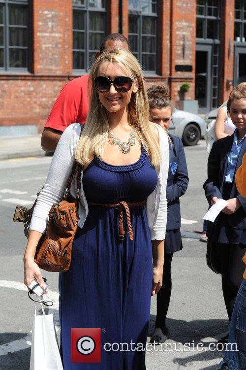 Catherine Tyldesley  Coronation Street actors arrive at...