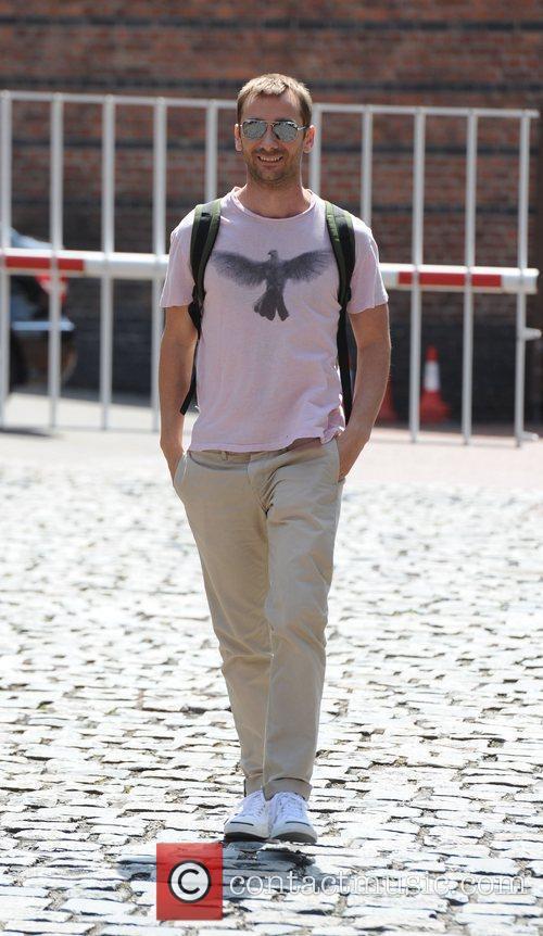 Charlie Condou Coronation Street actors arrive at Granada...