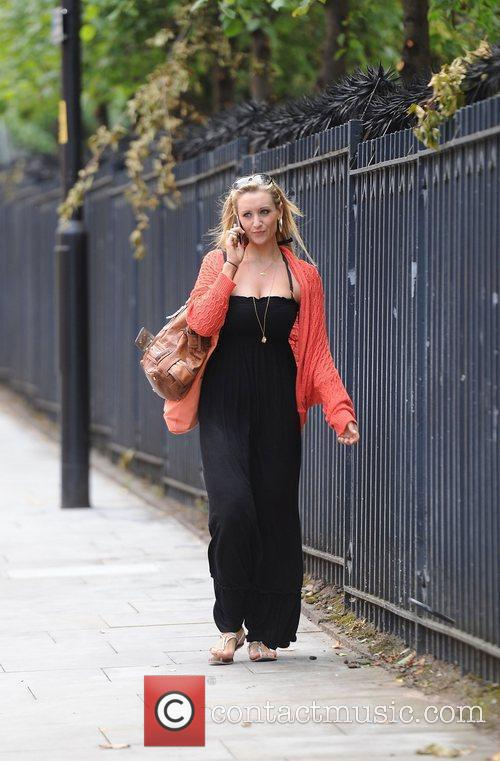 Catherine Tyldesley arrives at Granada studio's Manchester Manchester,...