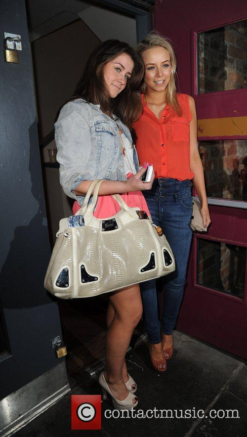 Brooke Vincent and Sacha Parkinson 7