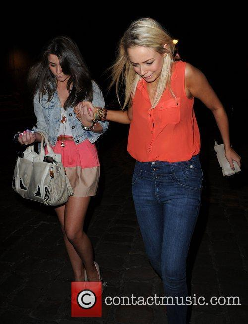 Brooke Vincent and Sacha Parkinson 6