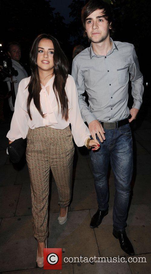 Coronation Street stars Graham Hawley and Craig Gazey...