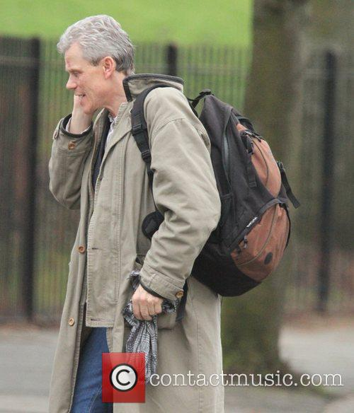 Andrew Hall 'Coronation Street' cast spotted while filming...