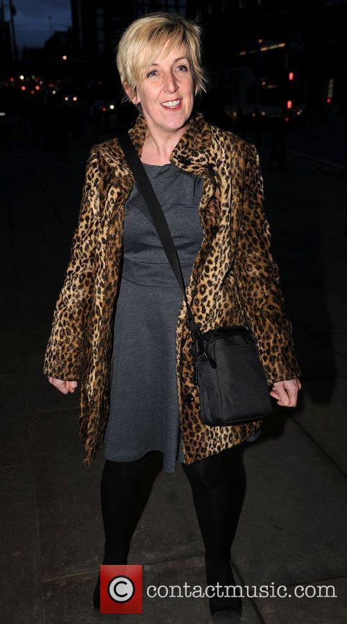 Julie Hesmondalgh at the press night of 'Corrie!...
