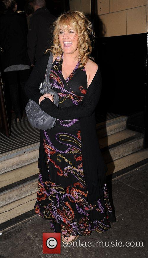Sally Lindsay at the press night of 'Corrie!...