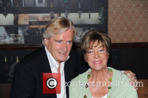 Anne Kirkbride and William Roache unveil waxworks of...