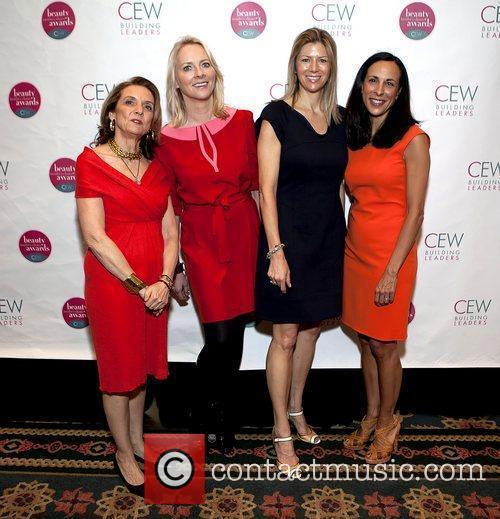 Carlotta Jacobson, Linda Wells, Agnes Chapski, and Jill...